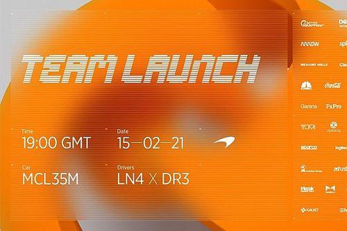 2021 F1 sezonu lansmanları, bugün McLaren ile başlıyor!