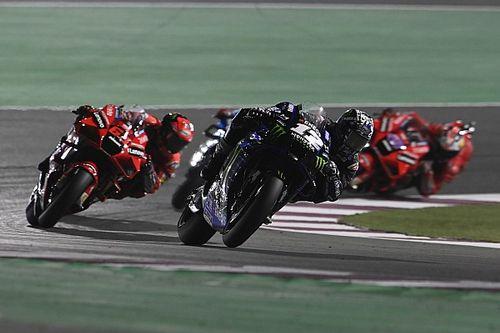 Viñales 'herkende Yamaha van weleer' in GP van Qatar