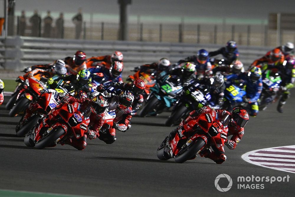 GP de Qatar MotoGP: Timeline vuelta por vuelta