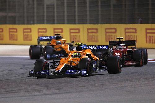 Norris se ayudó en los datos de Ricciardo para mejorar