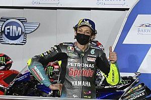 Rossi Optimistis Raih Podium MotoGP Qatar