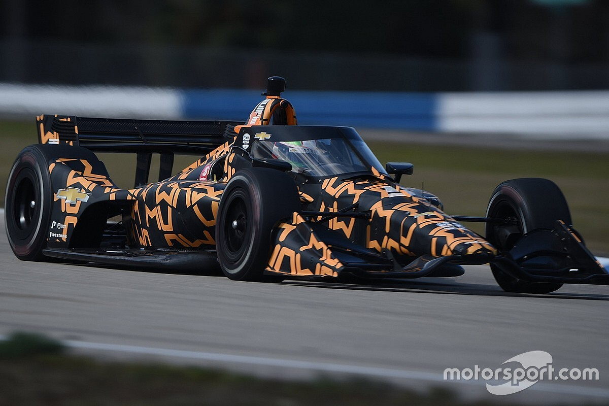O'Ward tops 14-car IndyCar test at Sebring