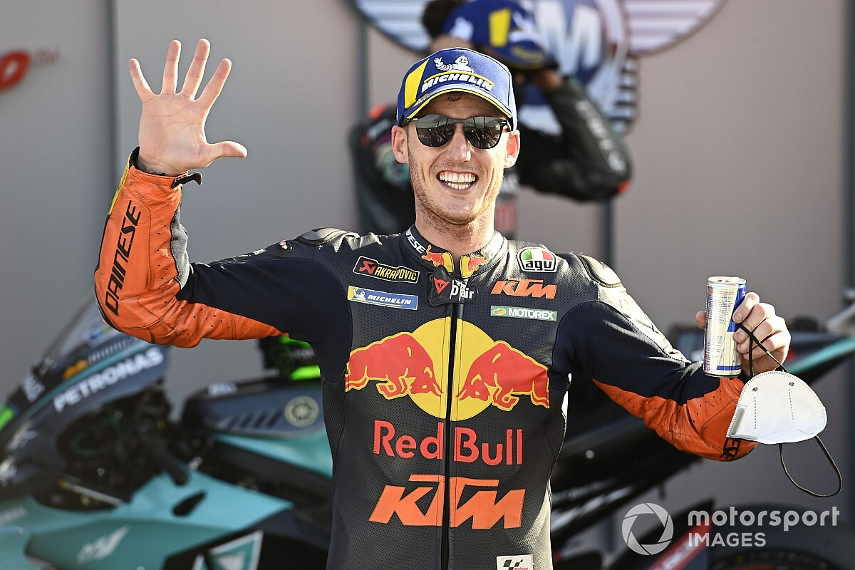 "Espargaro: Five MotoGP podiums with KTM in 2020 ""like a dream"""