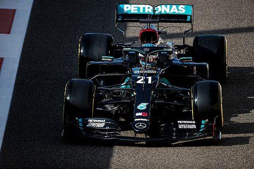 Mercedes lovend over snelheid De Vries bij Formule 1-testdebuut