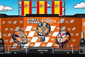 Vídeo: los MiniBikers y su disparatado GP de Europa de MotoGP