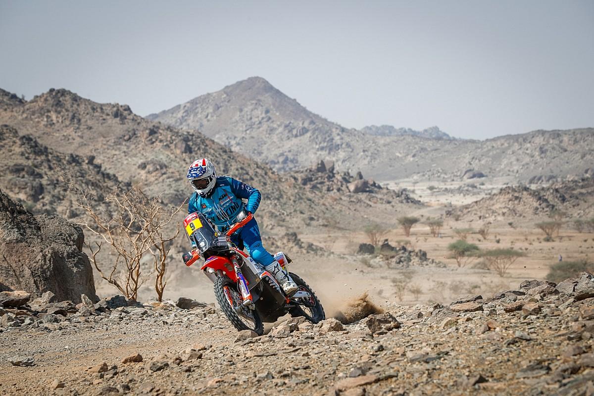 Quién es Skyler Howes, el nuevo líder en motos del Dakar 2021