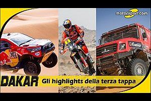 Dakar 2021: gli highlights della terza tappa