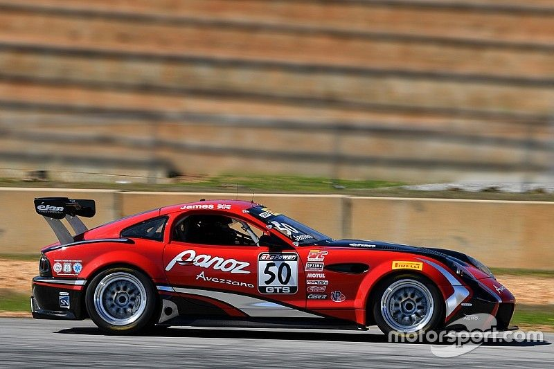 Panoz Avezzano completes first test