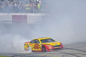 NASCAR Cup Race report Logano wins at Richmond in Penske 1-2