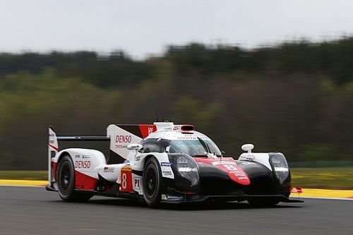 WEC Spa: Toyota bezet top-drie in derde training