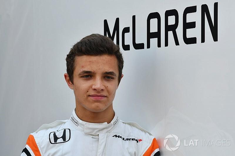 マクラーレン育成のランド・ノリス、来季F1昇格は否定