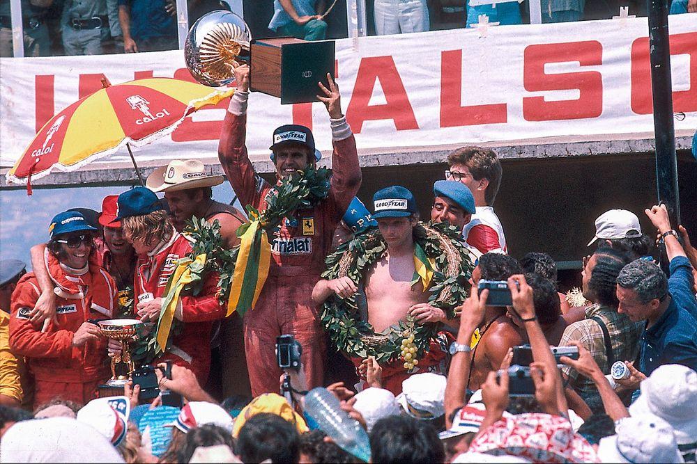 F1: cerimonia vecchio stile per i primi 3 della Sprint Qualifying