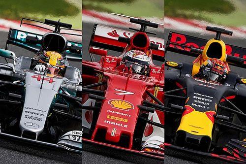 Tech analyse: Hoe verschillen de Mercedes, Red Bull en Ferrari van elkaar?