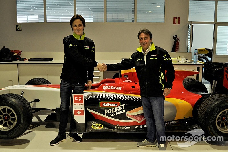 Ralph Boschung saluta la GP3 e passa in F.2 col team Campos Racing