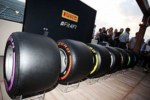 Pirelli reveals tyre choices for first F1 races of 2017