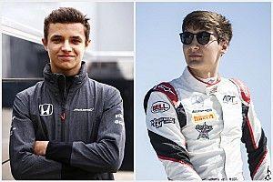 """فورمولا 2: ترشيح نوريس وراسل للقيادة لصالح فريق """"آرت"""""""