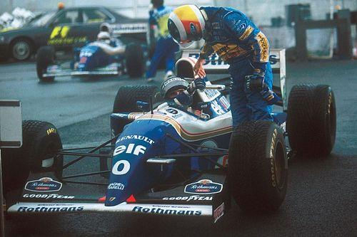 雨中の快進撃3:シューマッハーを真っ向勝負で下したヒルのベストレース:1994年日本GP