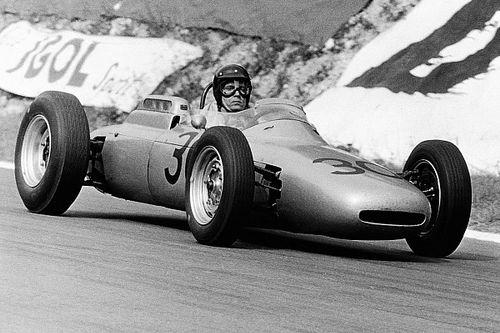 Porsche en F1 avec la 804 à moteur 8 cylindres à plat