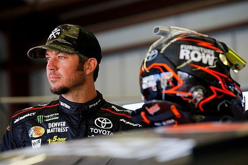 Pocono victory slips through Truex's fingers