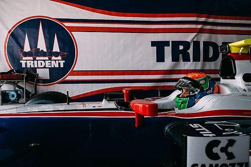 Sergio Canamasas in Bahrain con la Trident per la prima della F2