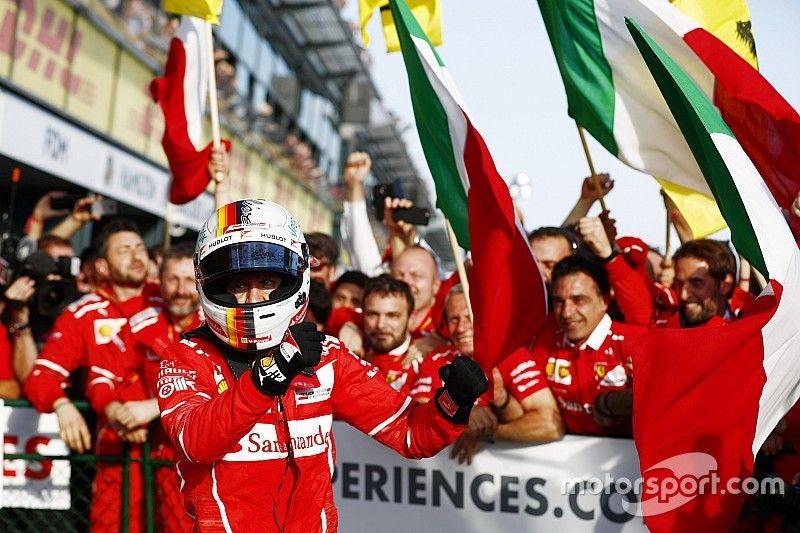 """""""It was about time"""" Ferrari won again - Marchionne"""