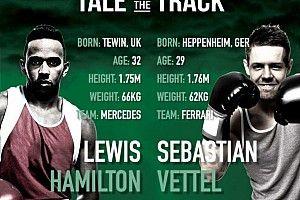 Casa de apostas propõe luta de boxe entre Hamilton e Vettel