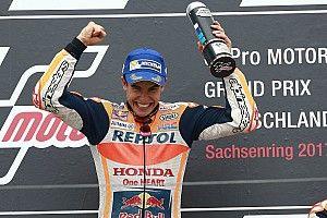 Marquez draagt winst in 'moeilijke wedstrijd' op aan Nicky Hayden