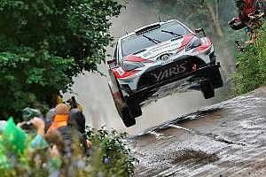 Polonya WRC: Dörtlü mücadelede cuma sabahının lideri Latvala