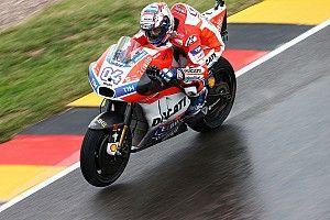【MotoGP】ドヴィツィオーゾ「予選ではリヤタイヤがダメになった」