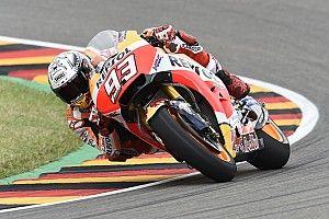 【MotoGP】ドイツGP:クラッシュ多発のFP3、マルケスがトップ