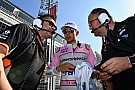 """Forma-1 Force India: """"Elfogadhatatlan, amit Ocon és Pérez csinált Bakuban"""""""