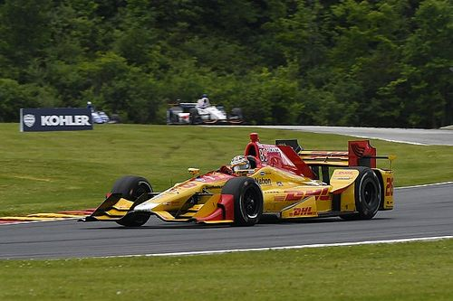 Mid-Ohio IndyCar: Hunter-Reay fastest in second practice