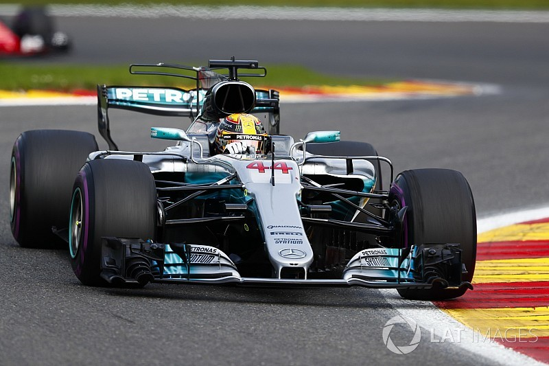 """Mercedes: """"Low downforce-afstelling speelde sleutelrol bij overwinning Spa"""""""