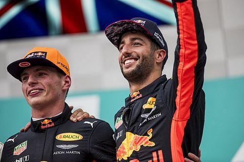 Horner prijst wederzijds respect tussen Verstappen en Ricciardo