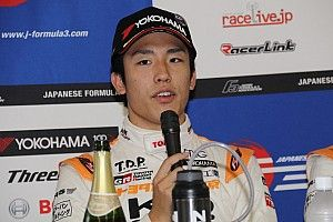 坪井翔、猛追も王者には届かず「結果を素直に受け止め次につなげたい」