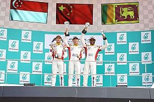 Formula 4 SEA Race report F4 SEA Sepang: Cao menangi Race 1, Dana finis P7