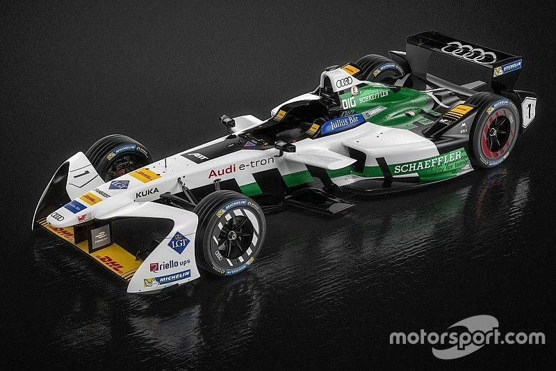Audi показала машину для Формулы E