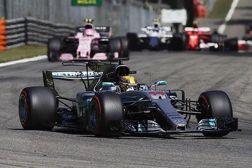 """Hamilton: """"Le moteur Mercedes est assurément meilleur que le Ferrari"""""""
