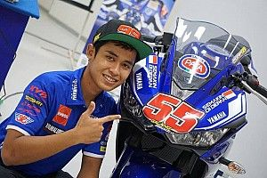 Galang Hendra lakoni debut World Supersport 300