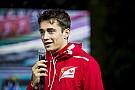 Leclerc, Sauber'le dört cuma antrenmanına katılacak