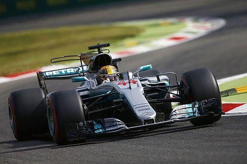 Italian GP: Hamilton leads dominant Mercedes 1-2 in FP1