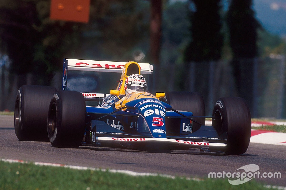 Mansell's Williams FW14B to be sold at Goodwood