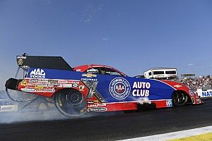 Time for the big NHRA fight in Vegas