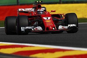 Belgian GP: Raikkonen pips Hamilton in FP1