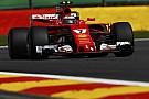 Raikkonen lidera TL1 em Spa; Massa bate no início