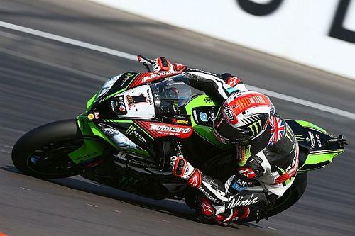 Le podium faute de mieux pour des Kawasaki en mal de traction