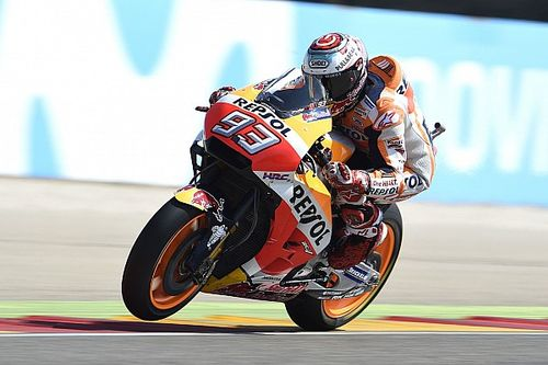 "Marquez had to ""fight"" bike to score Aragon win"