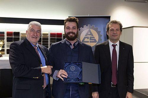 Stefano Comini premiato in Svizzera per i trionfi del 2016