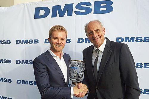 Formel-1-Weltmeister Nico Rosberg vom DMSB ausgezeichnet