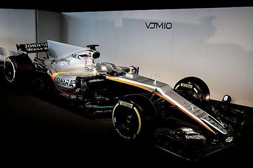 Fotogallery: la presentazione della Force India VJM10